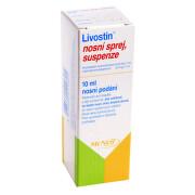 LIVOSTIN 0,5MG/ML nosní podání SPR SUS 1X10ML