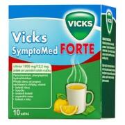 VICKS SYMPTOMED FORTE CITRÓN 1000MG/12,2MG perorální PLV SOL SCC 10