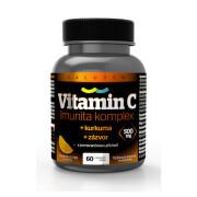 Vitamin C 500mg Imunita kurkuma + zázvor tbl.60