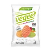 Organic veggie chips carrot beetrot broccoli 85g