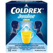 COLDREX JUNIOR CITRON 300MG/5MG/20MG perorální PLV SOL SCC 10 I
