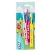 TePe Mini x-soft zubní kartáčky 3ks blistr 382210