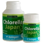 Chlorella Japan + kolagen tbl.250