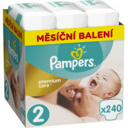 Pampers Plenky Premium Monthly Box S2 240