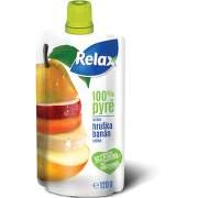 Relax pyré 100% mrkev-hruška-banán-jablko 120g