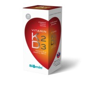 Vitamin K2+D3 1000 I.U. tob.30 Biomin