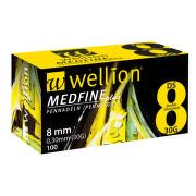 WELLION MEDFINE PLUS jEHLY PRO INZULÍNOVÁ PERA JEHLY PRO VŠECHNA INZULÍNOVÁ PERA, VEL. 30G X 8 MM