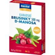 Revital Kanadské brusinky Forte 500 mg cps.30