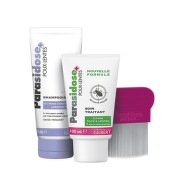 Parasidose Express100ml+šampon+hřeben