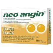 NEO-ANGIN ŠALVĚJ 1,2MG/0,6MG/5,9MG pastilka 24