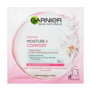 Garnier čistící textilní maska heřmánek pro suchou a citlivou pleť 32g