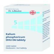 KALIUM PHOSPHORICUM DHU D6 neobalené tablety 1000
