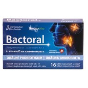 Bactoral + Vitamín D 16 tablet