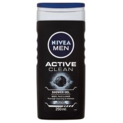 NIVEA Sprchový gel muži ACTIVE CLEAN 250ml č.84045