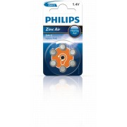 Baterie do naslouchadel PHILIPS ZA13B6A/00 6ks