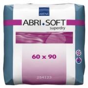 ABRI SOFT SUPERDRY PODLOŽKY ABSORPČNÍ,60X90CM,1600ML,SE SUPERABSORBEN