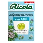 RICOLA Svěží alpský bez cukru 40g
