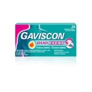 GAVISCON DUO EFEKT žvýkací tableta 24