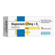 Magnesium 375mg+B6 forte Generica+Vit.C eff.tbl.10