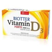 Biotter Vitamín D3 Forte doplněk stravy cps.60
