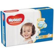 HUGGIES Ultra Comfort Jumbo vel.4+ 10-16kg 46ks