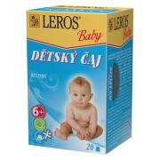 LEROS Baby Dýchací cesty s lípou n.s.20x2g