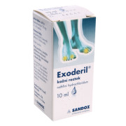 EXODERIL 10MG/ML kožní roztok 1X10ML