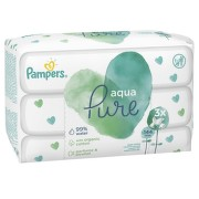 Pampers ubrousky Aqua Pure 3x48ks