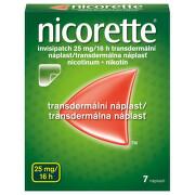 NICORETTE INVISIPATCH 25MG/16H transdermální EMP 7 I