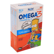The Simpsons Omega 3+vit.D+vit.E cps.60