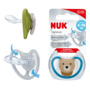 NUK Dudlík Space SI V2(6-18m) 1 ks BOX 736339