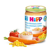 HiPP JUNIOR BIO Zel.s těst.a šunkou 220g