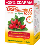 GS Vitamin C1000 se šípky tbl.100+20 2016