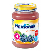 Hamánek kojenecká výživa s borůvkami 190g C-151