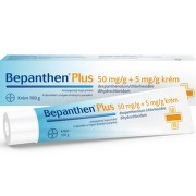 BEPANTHEN PLUS 50MG/G+5MG/G krém 100G
