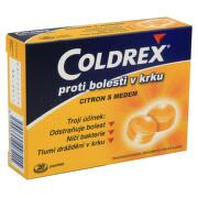 COLDREX PROTI BOLESTI V KRKU CITRON S MEDEM 2,5MG/1,2MG pastilka 20 I