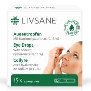 LIVSANE Oční kapky ampule 15 x 0.35ml