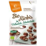Landgarten BIO dýňová semínka v mléč.čokoládě 50g