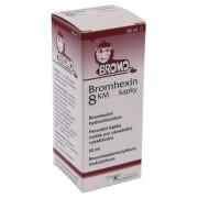 BROMHEXIN 8 KM KAPKY 8MG/ML perorální GTT SOL 1X50ML