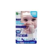 Dětský zubní kartáček na prst 0m+ 9117