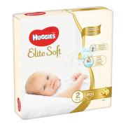 HUGGIES Elite Soft 2 4-6kg 80ks