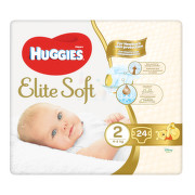 HUGGIES Elite Soft 2 4-6kg 24ks