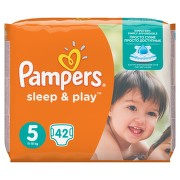 PAMPERS Sleep&Play 5 Junior 42ks