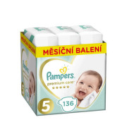 Pampers Plenky Premium Monthly Box S5 136