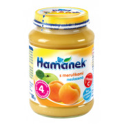 Hamánek kojenecká výživa s meruňkami nesl.180g 4M C-146