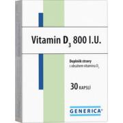 Vitamin D3 800 I.U. Generica cps.30