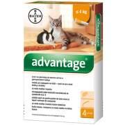 Advantage pro malé kočky a králíky spot-on 1x0.4ml