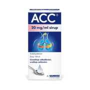 ACC 20MG/ML sirup 1X100ML