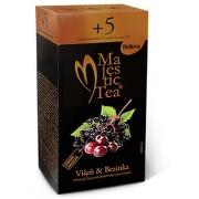 Čaj Majestic Tea Višeň & Bezinka 25x2.5g