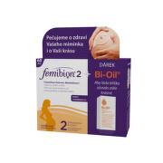 Femibion 2 s vit. D3 dvojbalení + Bi-Oil 25ml